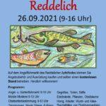 26.09.2021 – Angelflohmarkt in Reddelich